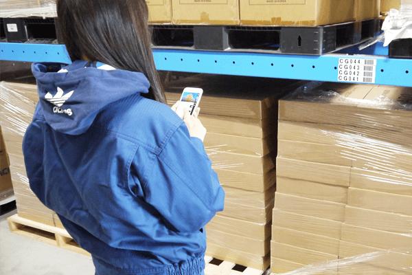 京セラ:Platio棚卸しアプリ活用の様子